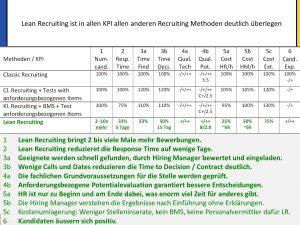 Bild KPI Lean Recruiting