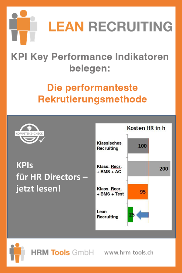 KPI Key Performance Indikatoren für das Recruiting