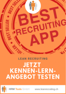 Lean Recruiting - Best Recruiting App - Jetzt Kennenlern-Angebot testen