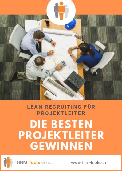 Lean Recruiting - Projektteam am Arbeitsplatz